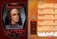 Star Trek Engagement Calendar 2020 April