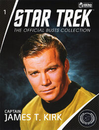 Star Trek Official Busts Collection issue 1