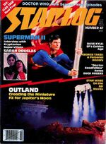 Starlog issue 047 cover