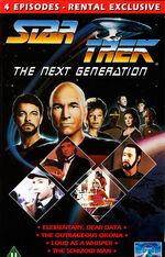 TNG Vol 8 UK Rental VHS cover