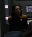 Voyager crew member sleeping in sickbay 1