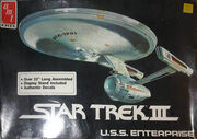 AMT Model kit 6675 USS Enterprise 1985