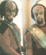 Al Simon and Michael Dorn