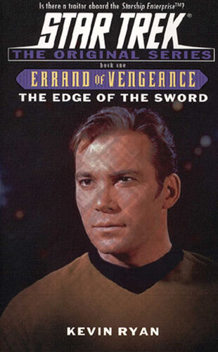 Cover of book 1, <i>The Edge of the Sword</i>