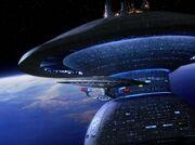 Enterprise verlässt Sternenbasis