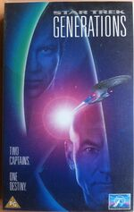 Generations UK VHS rental cover
