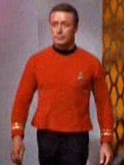 Lieutenant Commander Barbesucher Sternenbasis 11 2267
