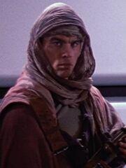 Mitglied der Galaktischen Armee des Lichts auf der Enterprise 6