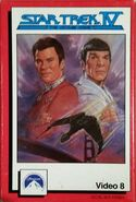 Star Trek IV Video 8 reissue cover