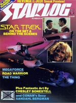 Starlog issue 061 cover