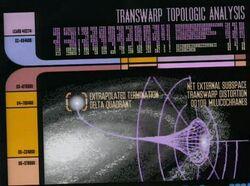Transwarp conduit topology