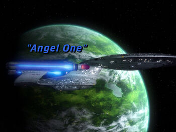 Angel One title card