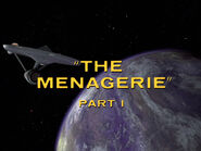 1x15 The Menagerie, Part I title card