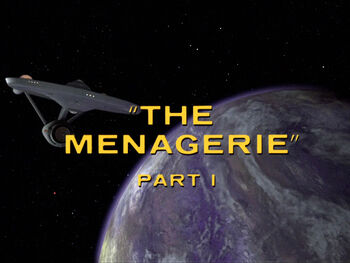 The Menagerie, Part I title card