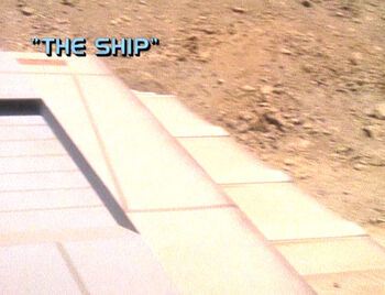 The Ship title card
