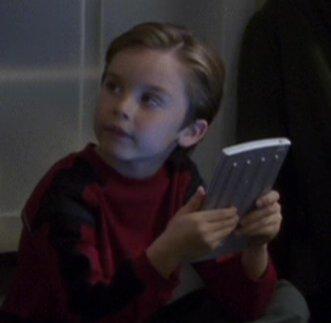 ...as Sim, age 4