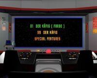 DVD-Menü TOS Staffel 3 Disc 7