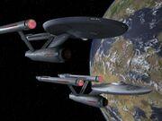 Enterprise und Exeter