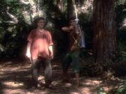 Joseph und Vinod treffen auf Sisko und O'Brien