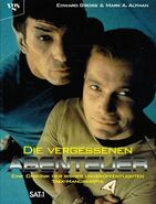 Lost Voyages of Trek and The Next Generation 1995 German cover