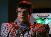Romulan commander, 2366