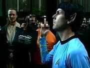 Spock flip