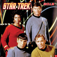Star Trek Calendar 2013 cover