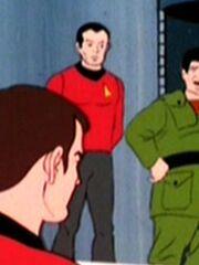 Sternenflottenoffizier Sicherheit USS Enterprise 2269 Sternzeit 5392