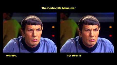 """TOS """"The Corbomite Maneuver"""" - """"Fausse manoeuvre"""" - comparaison des effets spéciaux 1"""