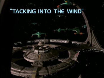 Tacking Into the Wind title card