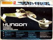 AMT-Matchbox Model kit PK5111 Klingon Cruiser 1979