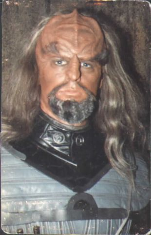 "...as a Klingon in ""Sins of the Father"""