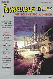 Incredible Tales Cover - March 1953