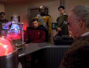 Riker hat Ärger mit den Kes