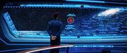 Septima explosion roja pantalla Enterprise Spock DIS Such Sweet Sorrow Part II