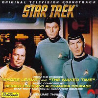 TOS Soundtrack Volume 3 cover