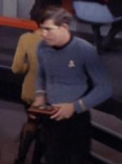 Wissenschaftlicher Offizier Enterprise 2267 Sternzeit 3141
