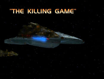 The Killing Game title card