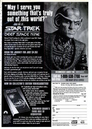 DS9 The Collectors Edition advert