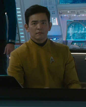 Hikaru Sulu in 2263
