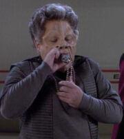 Orn Lote using an inhaler