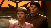 T'Pol and Koss on Vulcan