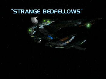 Strange Bedfellows title card