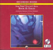 Exiles (Vulcan's Soul) audiobook cover