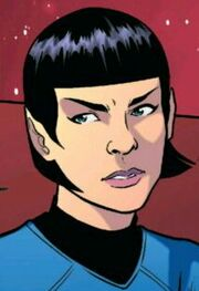 Female Spock IDW