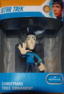Hallmark 2018 Spock value ornament blue pkg