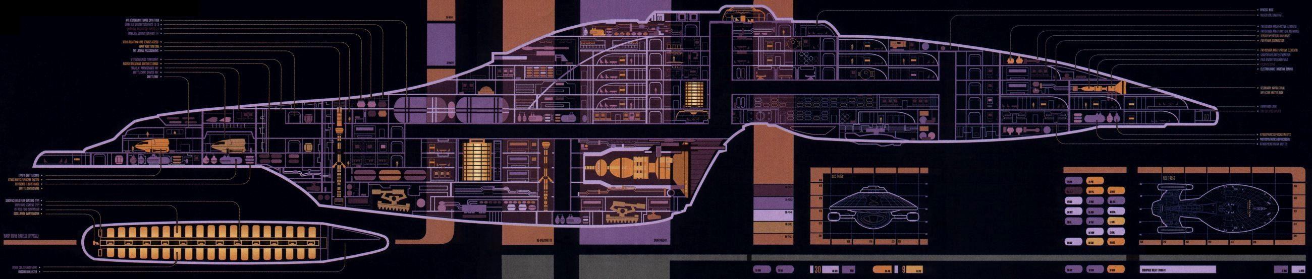 [TBQL_4184]  Intrepid class decks | Memory Alpha | Fandom | Voyager Schematics |  | Memory Alpha - Fandom