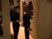 Jadzia erzählt Sisko die Wahrheit