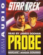 Probe audiobook cover, cassette edition