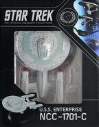Star Trek Official Starships Collection USS Enterprise-C repack 10